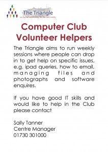 computer club - vol ad
