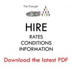 hire rates conditions information - pdf widget