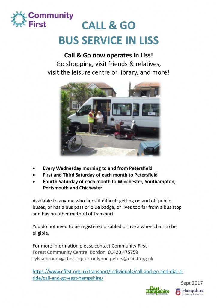 call and go - sept17 - poster