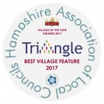 village of the year 2017 - best village feature - letterhead logo