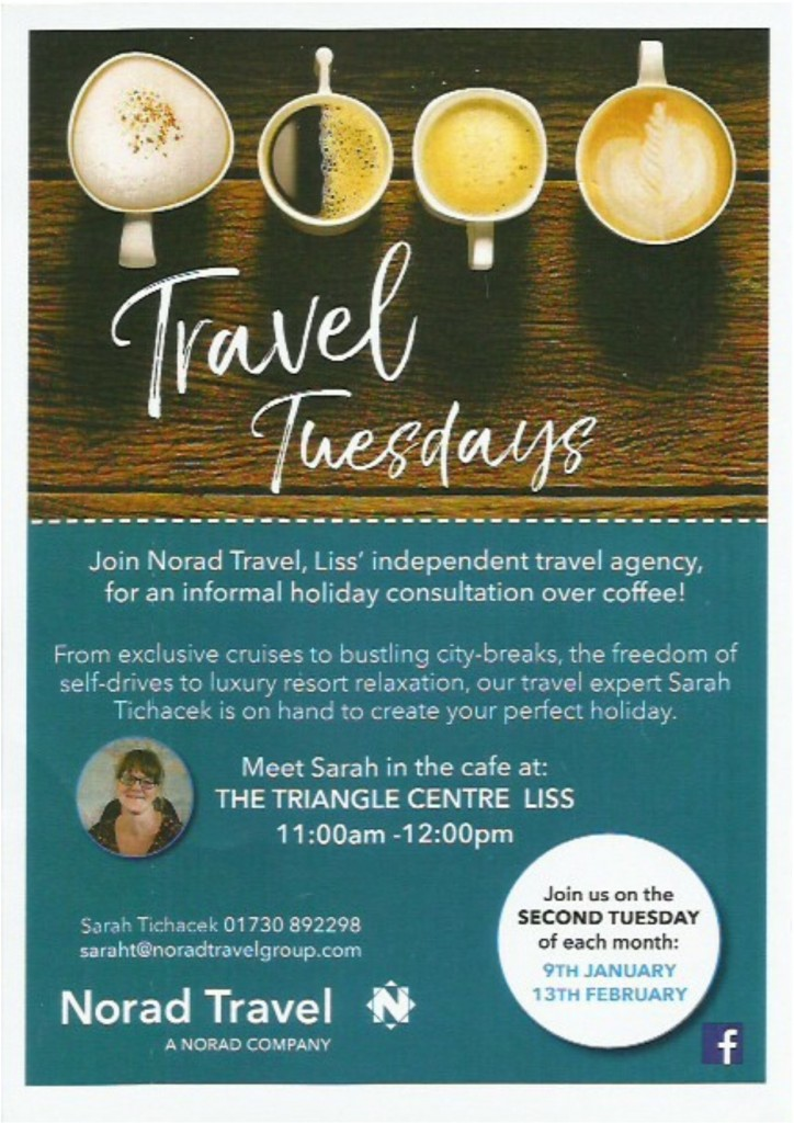 norad travel tuesdays - jan & feb 2018