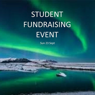 student fundraising event - 23.09.18 - widget