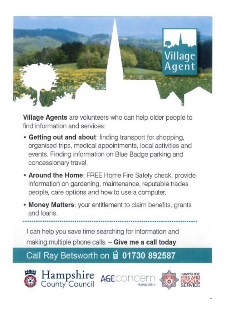 village agent - apr2016 - notes