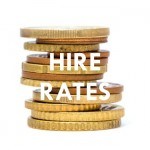 hire rates - widget