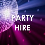 party hire - widget