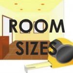 room hire sizes - widget