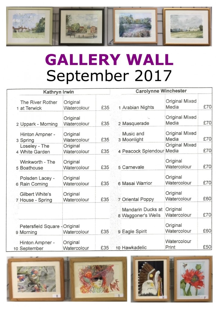 art - gallery wall - sept2017 - poster