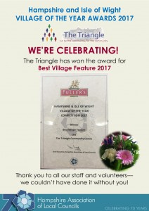 hampshire association of local councils - certificate