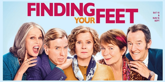 finding your feet - 15&16.09.18 - slide