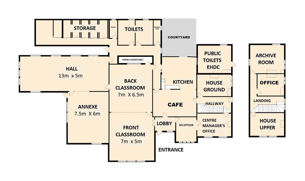 Triangle Centre Floor Plan